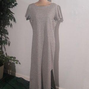Vtg. Spiegel Maxi Dress w double splits 14/16